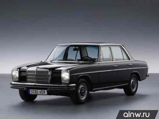 Mercedes-Benz W114  Седан