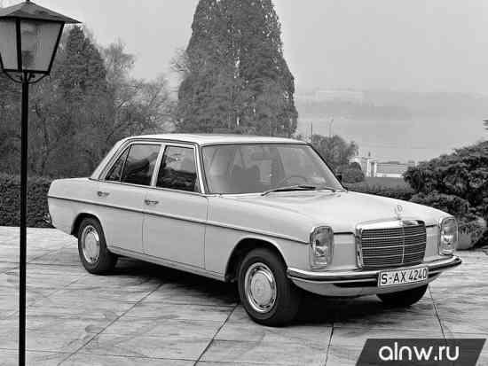 Инструкция по эксплуатации Mercedes-Benz W114  Седан
