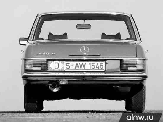 Каталог запасных частей Mercedes-Benz W114  Седан