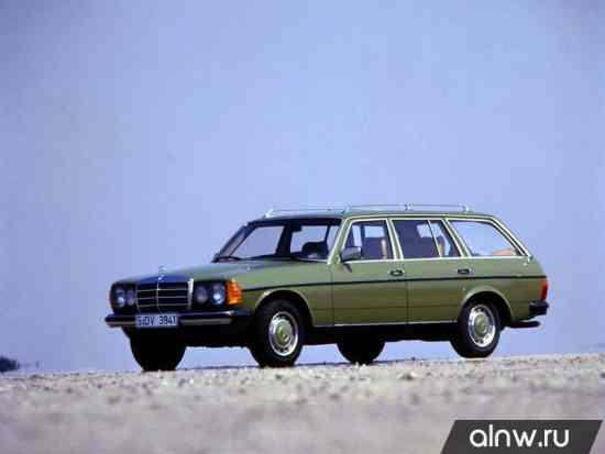 Руководство по ремонту Mercedes-Benz W123  Универсал 5 дв.