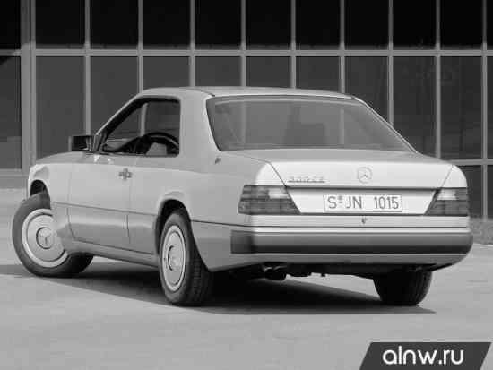 Инструкция по эксплуатации Mercedes-Benz W124  Купе