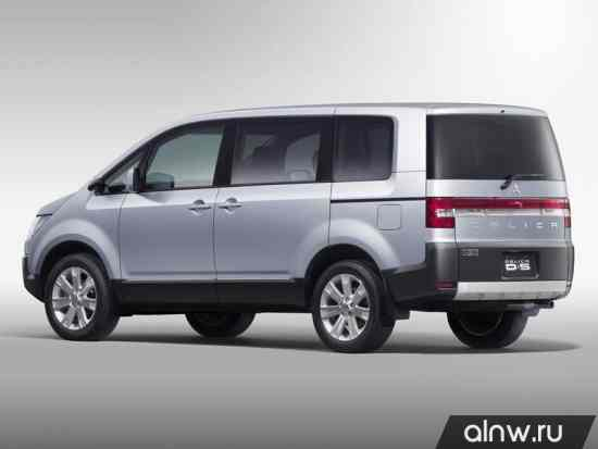 Каталог запасных частей Mitsubishi Delica V Минивэн