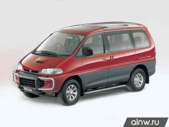 Mitsubishi Delica IV Минивэн