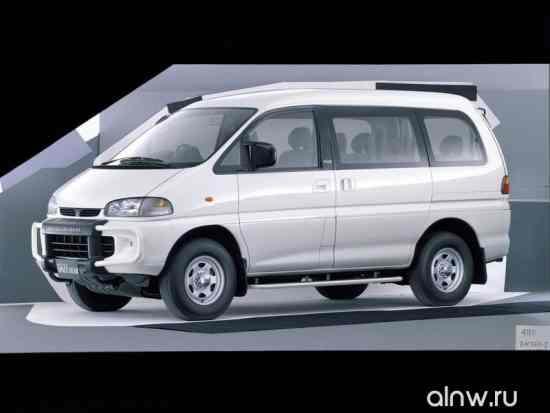 Инструкция по эксплуатации Mitsubishi Delica IV Минивэн