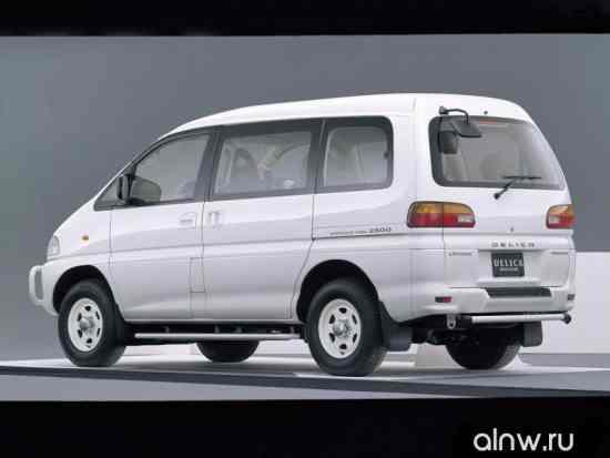 Каталог запасных частей Mitsubishi Delica IV Минивэн