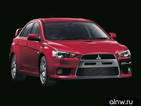 Mitsubishi Lancer Evolution X Седан