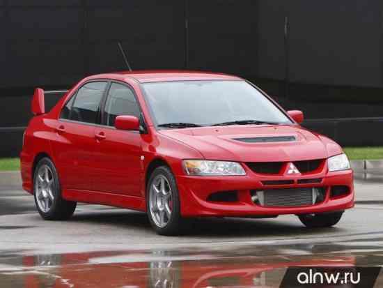 Mitsubishi Lancer Evolution VIII Седан