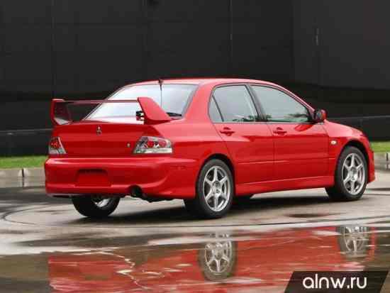 Каталог запасных частей Mitsubishi Lancer Evolution VIII Седан