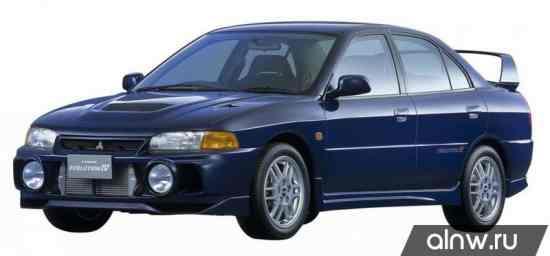 Mitsubishi Lancer Evolution IV Седан