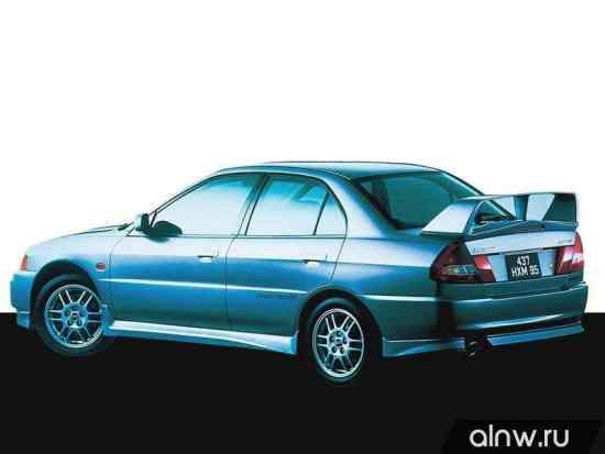 Каталог запасных частей Mitsubishi Lancer Evolution IV Седан