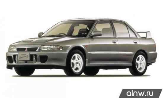 Mitsubishi Lancer Evolution II Седан