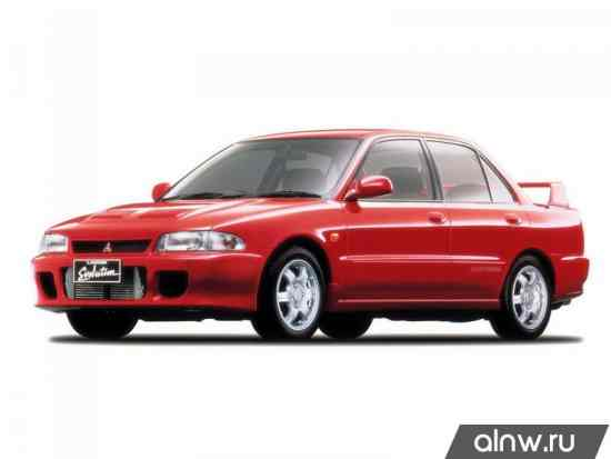 Mitsubishi Lancer Evolution I Седан