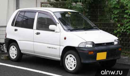 Инструкция по эксплуатации Mitsubishi Minica VI Хэтчбек 3 дв.