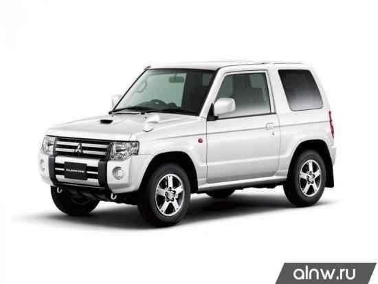 Каталог запасных частей Mitsubishi Pajero Mini II Внедорожник 3 дв.