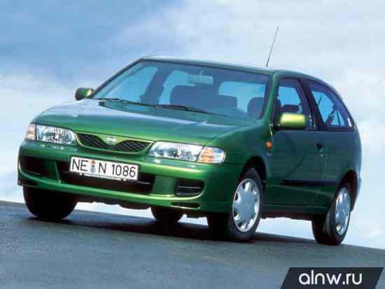 Nissan Almera I (N15) Хэтчбек 3 дв.