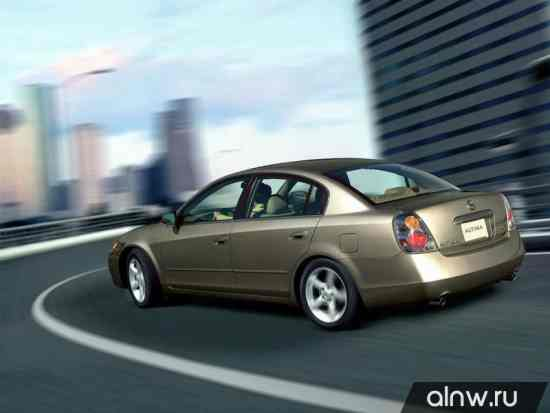 Каталог запасных частей Nissan Altima III Седан