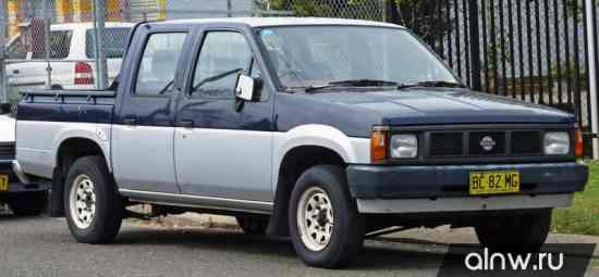 Nissan Navara (Frontier) I (D21) Пикап Двойная кабина