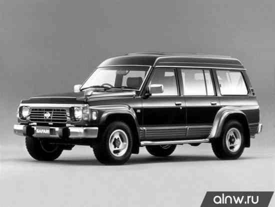Nissan Safari IV (Y60) Внедорожник 5 дв.