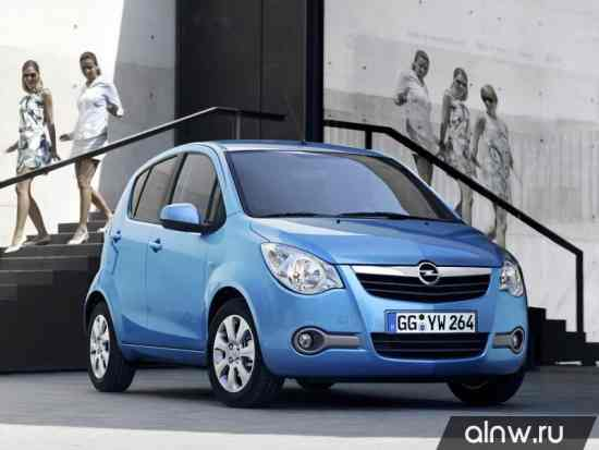 Opel Agila B Хэтчбек 5 дв.