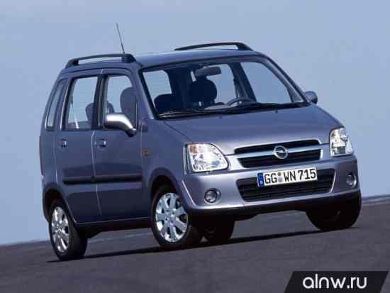 Opel Agila A Микровэн