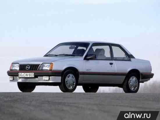 Opel Ascona C Купе