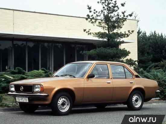 Opel Ascona B Седан