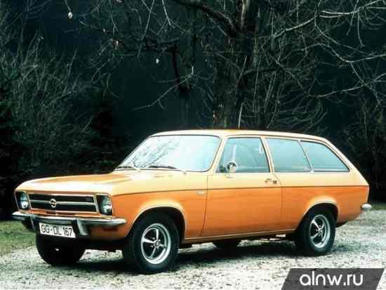 Opel Ascona A Универсал 3 дв.