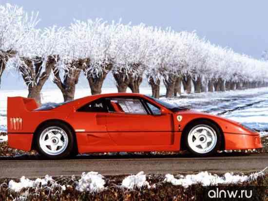 Каталог запасных частей Ferrari F40