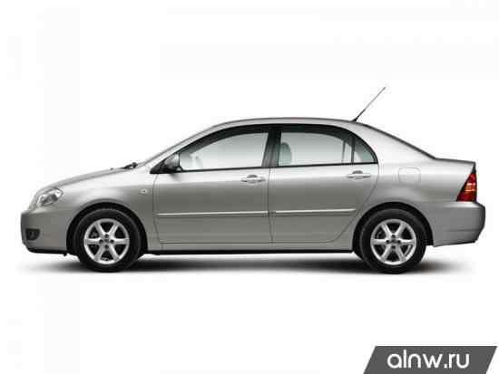 Corolla e120 руководство по эксплуатации