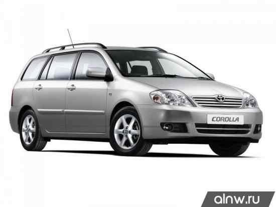 Corolla E120 руководство по эксплуатации - фото 4