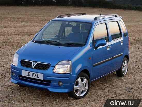 Vauxhall Agila A Микровэн