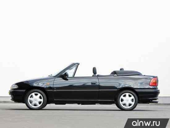 Vauxhall Astra F Кабриолет