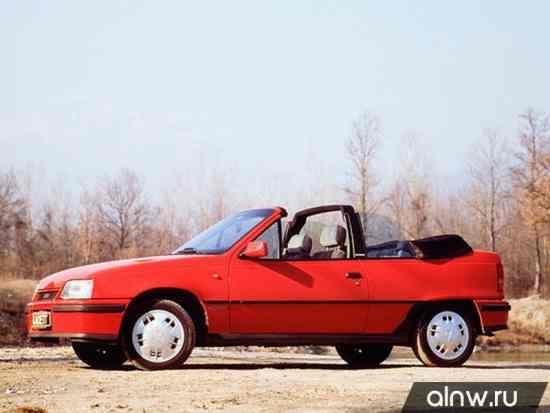 Vauxhall Astra E Кабриолет