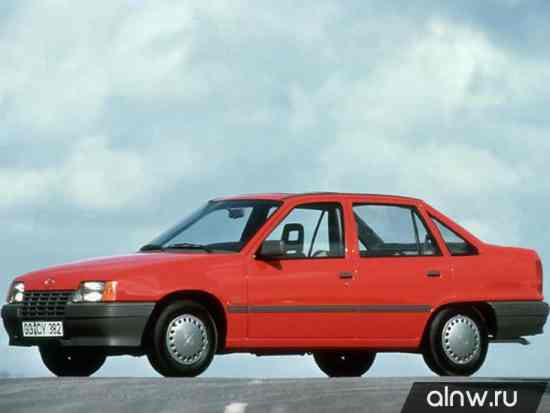 Vauxhall Astra E Седан
