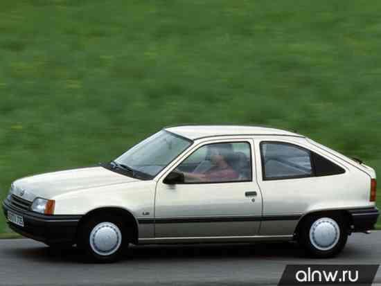 Vauxhall Astra E Хэтчбек 3 дв.
