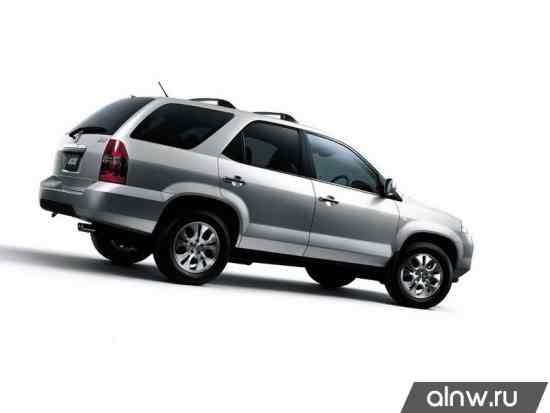 Каталог запасных частей Honda MDX