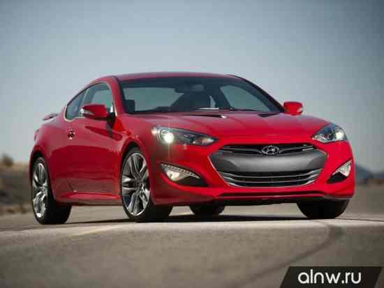 Каталог запасных частей Hyundai Genesis Coupe