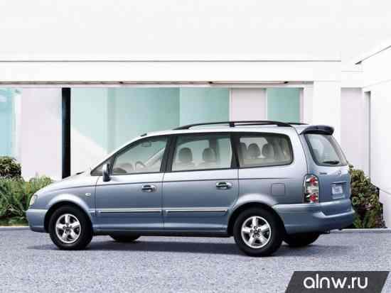 Каталог запасных частей Hyundai Trajet