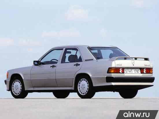 Каталог запасных частей Mercedes-Benz 190 (W201)
