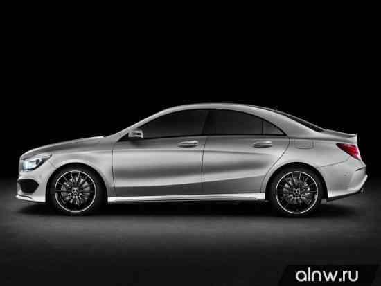 Каталог запасных частей Mercedes-Benz CLA-klasse