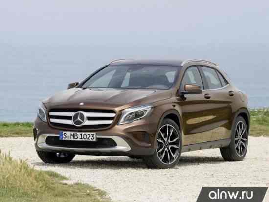 Руководство по ремонту Mercedes-Benz GLA-klasse