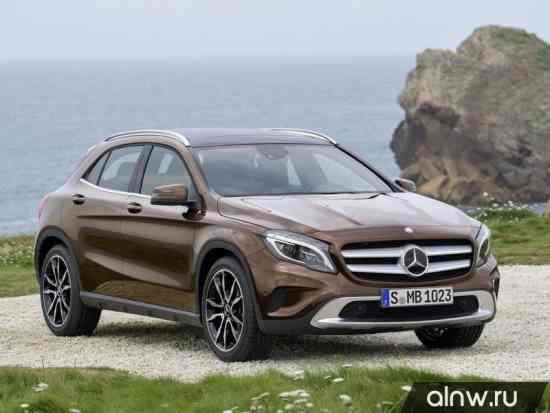 Каталог запасных частей Mercedes-Benz GLA-klasse