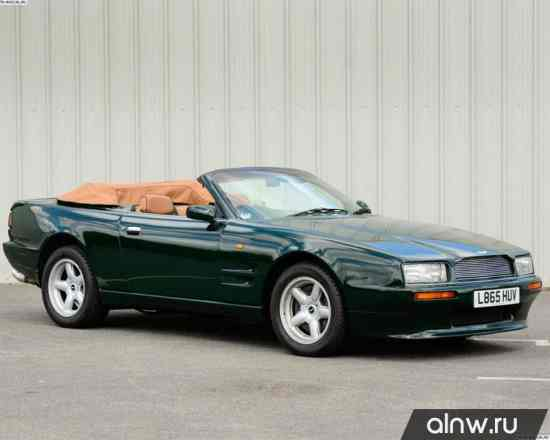 Руководство по ремонту Aston Martin Virage I Кабриолет