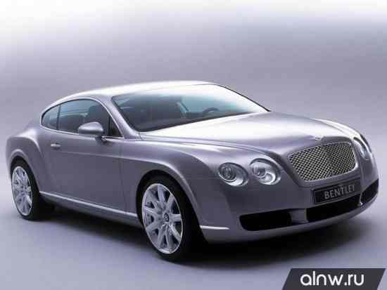 Bentley Continental GT I Купе
