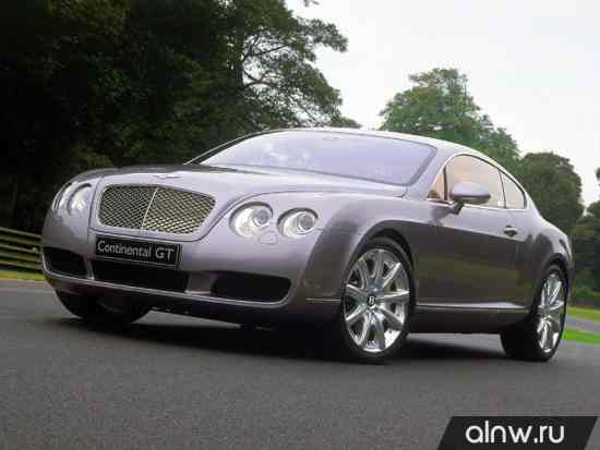 Инструкция по эксплуатации Bentley Continental GT I Купе