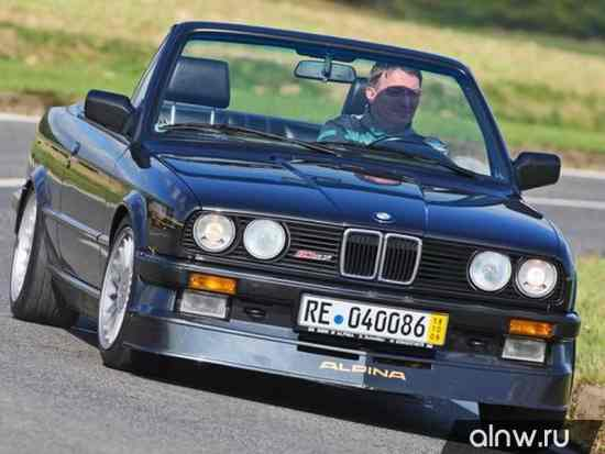 Руководство по ремонту BMW Alpina 3 series II (E30) Кабриолет