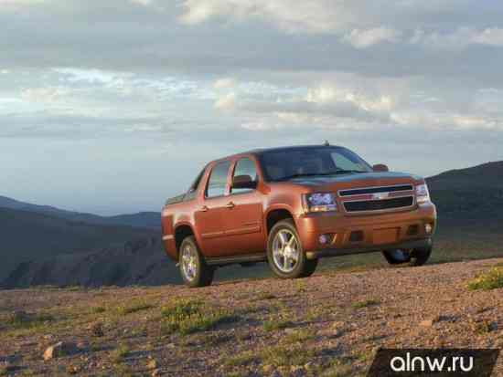 Chevrolet Avalanche II Пикап Двойная кабина