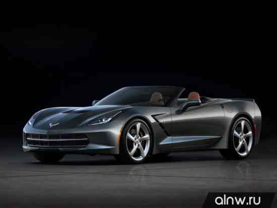 Руководство по ремонту Chevrolet Corvette C7 Stingray Кабриолет