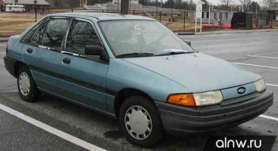 Ford Escort (North America) II Хэтчбек 5 дв.