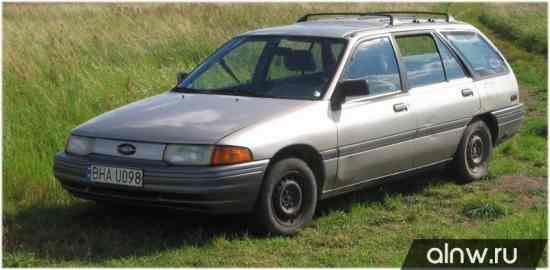 Ford Escort (North America) II Универсал 5 дв.